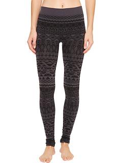 カジュアル ファッション エコー レギンス パンツ レディース 女性用 スパッツ 下着 インナー 靴下 レッグウェア ナイトウエア 【 AVENTURA CLOTHING ECHO LEGGINGS BLACK GREY 】