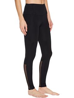 メッシュ レギンス パンツ 黒 ブラック レディース 女性用 ナイトウエア スパッツ 下着 インナー 靴下 レッグウェア 【 BLACK ONZIE MESH LEGGINGS 】