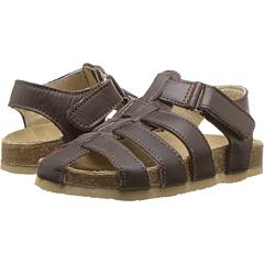 オールドベリー 茶 ブラウン 子供用 リトルキッズ ベビー キッズ マタニティ サンダル 靴 【 OLD SOLES ROADSTAR TODDLER BROWN 】