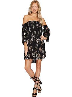 アンジー オフ ショルダー ドレス ワンピース 黒 ブラック レディース 女性用 レディースファッション 【 BLACK ANGIE OFF THE SHOULDER DRESS 】