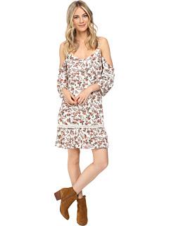 ブリジット ベイリー コールド ショルダー ドレス ワンピース バック ディテール レディース 女性用 レディースファッション 【 BRIGITTE BAILEY CAMELA COLD SHOULDER DRESS WITH BACK DETAIL IVORY RUST 】