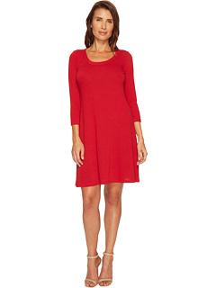 カレン スリーブ セーター ドレス ワンピース 赤 レッド レディース 女性用 レディースファッション 【 SLEEVE KAREN KANE 3 4 SWEATER DRESS RED 】