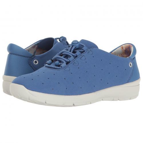 イージー スピリット ファブリック レディース 女性用 スニーカー レディース靴 靴 【 EASY SPIRIT GOSPORT BLUE FABRIC 】