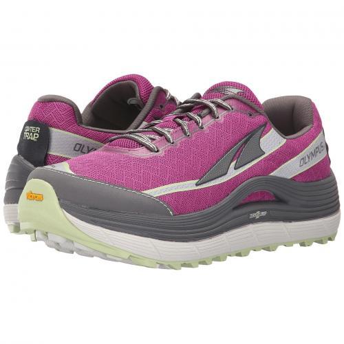 シューズ オリンパス レディース 女性用 スニーカー 靴 レディース靴 【 ALTRA FOOTWEAR OLYMPUS 2 ORCHID GRAY 】