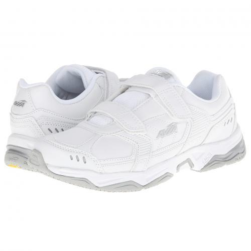 ストラップ 銀色 シルバー レディース 女性用 スニーカー レディース靴 靴 【 AVIA AVIUNION STRAP WHITE CHROME SILVER 】