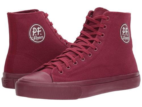 センター ハイ アドミラル 赤 レッド メンズ 男性用 メンズ靴 靴 スニーカー 【 PF FLYERS ALLAMERICAN CENTER HI ADMIRAL RED 】