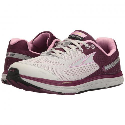 シューズ レディース 女性用 レディース靴 靴 スニーカー 【 ALTRA FOOTWEAR INTUITION 4 GRAY PURPLE 】