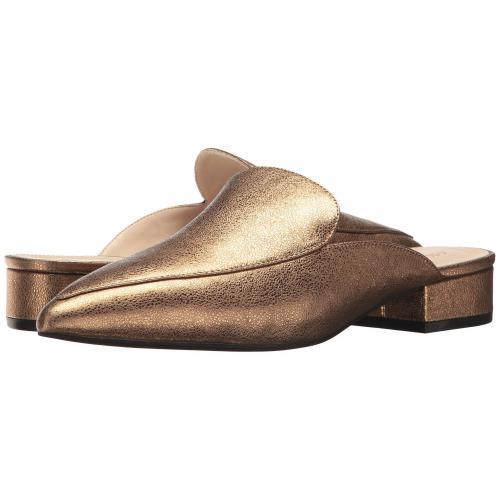 コール ゴールド 金 グリッター メタリック レディース 女性用 ミュール 靴 レディース靴 【 COLE HAAN PIPER MULE GOLD GLITTER METALLIC 】
