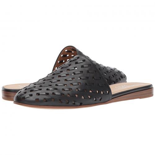 黒 ブラック レザー レディース 女性用 レディース靴 ミュール 靴 【 BLACK FRANCO SARTO GLENA 2 LEATHER 】