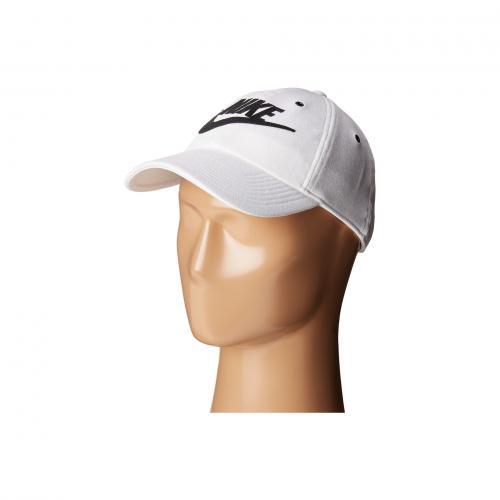 ナイキ キャップ 帽子 レディース 女性用 レディース帽子 バッグ ブランド雑貨 小物 【 NIKE NSW H86 CAP WHITE BLACK 】
