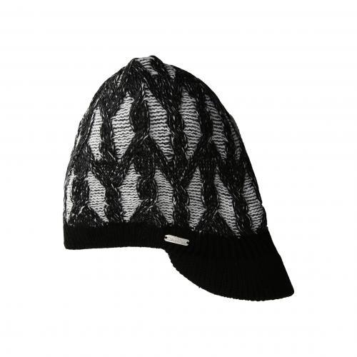 カルバン クライン ケーブル ハット 黒 ブラック レディース 女性用 小物 帽子 バッグ レディース帽子 ブランド雑貨 【 BLACK CALVIN KLEIN PLAITED CABLE CABBIE HAT 】