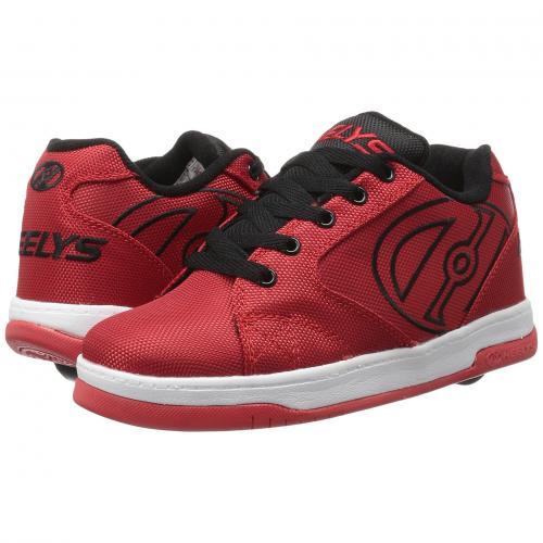 2.0 子供用 ビッグキッズ スニーカー 靴 キッズ ベビー マタニティ 【 HEELYS PROPEL BALLISTIC ADULT RED BLACK 】