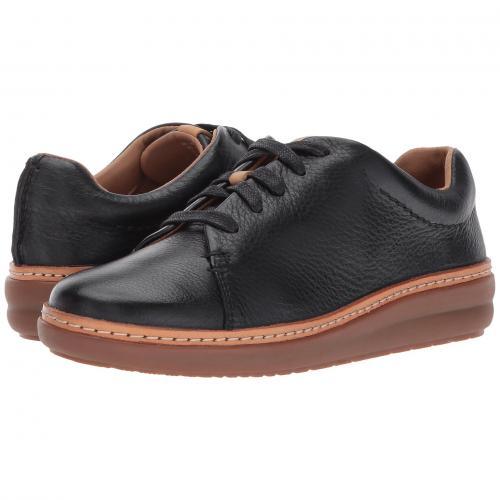 クラークス クレスト 黒 ブラック レディース 女性用 レディース靴 スニーカー 靴 【 BLACK CLARKS AMBERLEE CREST 】