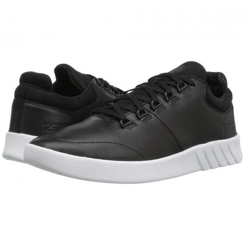 ケースイス トレーナー レディース 女性用 レディース靴 靴 スニーカー 【 KSWISS AERO TRAINER BLACK WHITE 】