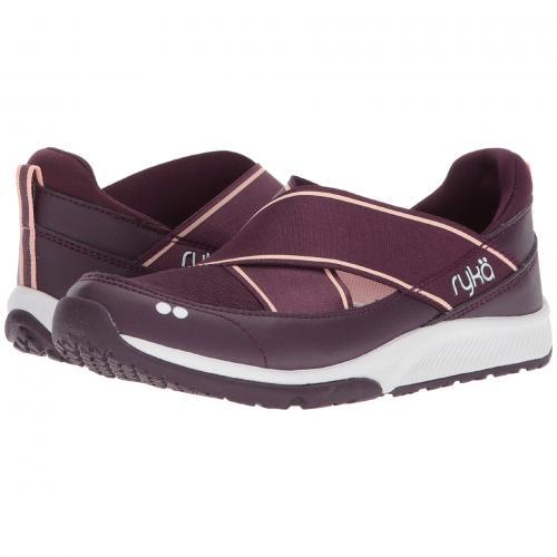 イタリアン レディース 女性用 レディース靴 靴 スニーカー 【 RYKA KLICK ITALIAN PLUM WHITE 】