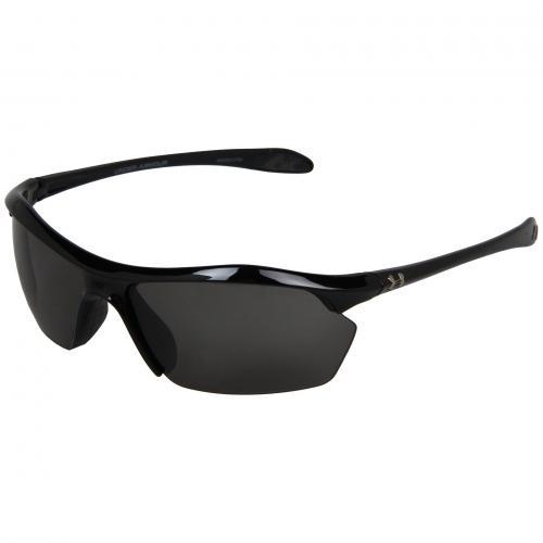 アンダー アーマー ゾーン シャイニー アンダーアーマー レディース 女性用 バッグ サングラス 眼鏡 小物 ブランド雑貨 【 ZONE UNDER ARMOUR XL SHINY BLACK GRAY 】