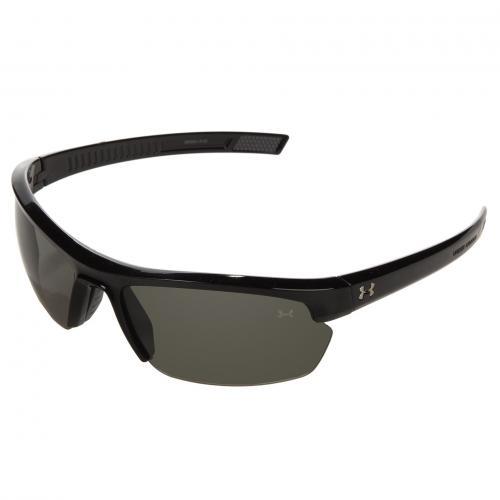 アンダー アーマー ウーア シャイニー アンダーアーマー レディース 女性用 眼鏡 サングラス バッグ ブランド雑貨 小物 【 UNDER ARMOUR UA STRIDE XL SHINY BLACK GRAY 】