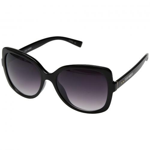 スティーブ スティーブマッデン 黒 ブラック レディース 女性用 小物 バッグ 眼鏡 サングラス ブランド雑貨 【 BLACK STEVE MADDEN SM875227 】