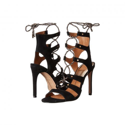 ドルチェ ヴィータ 黒 ブラック スエード スウェード レディース 女性用 靴 レディース靴 サンダル 【 BLACK DOLCE VITA HOWIE SUEDE 】