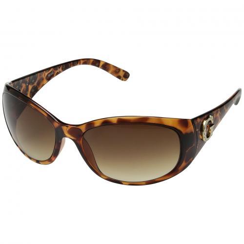ゲス 茶 ブラウン レンズ レディース 女性用 眼鏡 ブランド雑貨 バッグ サングラス 小物 【 GUESS GU6389 TORTOISE GRADIENT BROWN LENS 】