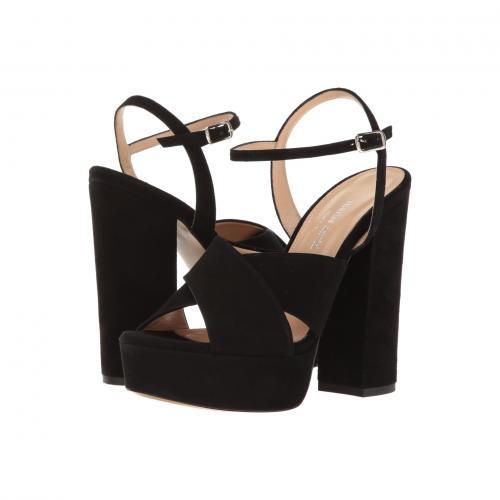 チャールズ ダビデ 黒 ブラック スエード スウェード レディース 女性用 サンダル 靴 レディース靴 【 BLACK CHARLES BY DAVID RIMA SUEDE 】