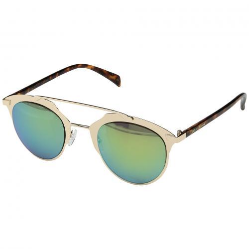 ジョンソン ゴールド 金 レディース 女性用 サングラス 眼鏡 ブランド雑貨 バッグ 小物 【 BETSEY JOHNSON BJ465142 GOLD 】