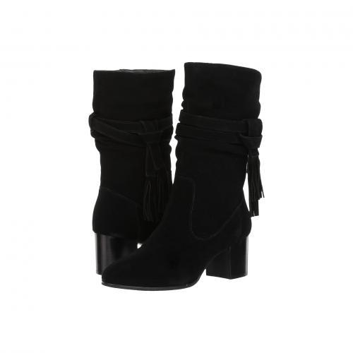 ジョニー 黒 ブラック レディース 女性用 レディース靴 靴 ブーツ 【 BLACK TAHARI JOHNNY 】