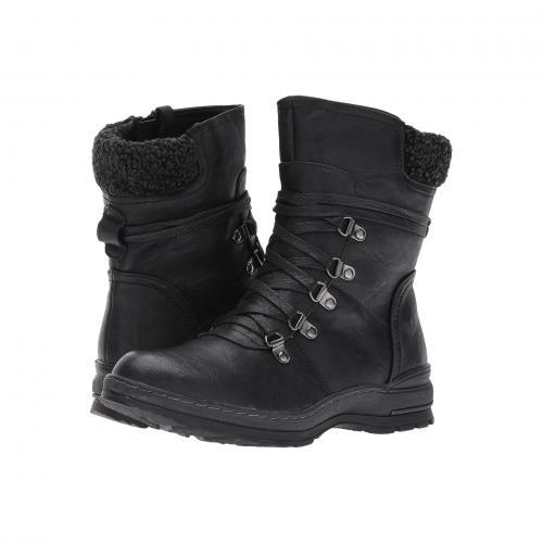 黒 ブラック レディース 女性用 靴 レディース靴 ブーツ 【 BLACK PATRIZIA CICELY 】