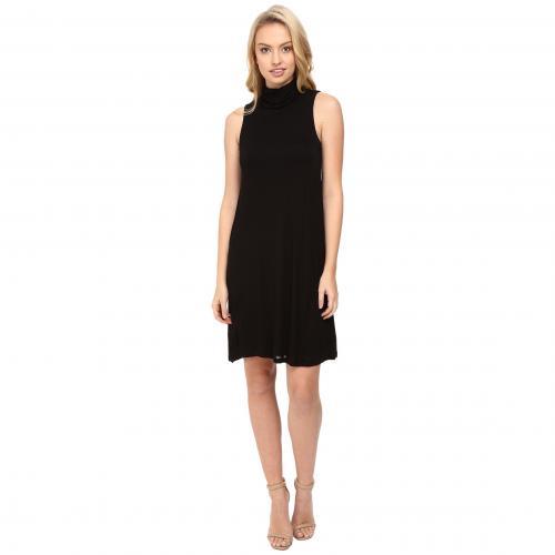 ビスコース Tシャツ ドレス ワンピース 黒 ブラック レディース 女性用 レディースファッション 【 BLACK KENSIE SHEER VISCOSE TEE DRESS KS8K7271 】