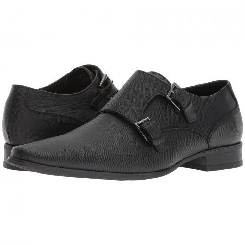 カルバン クライン バトラー 黒 ブラック メンズ 男性用 メンズ靴 ビジネスシューズ 靴 【 BLACK CALVIN KLEIN BUTLER WEAVE 】