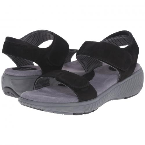 エレベート 黒 ブラック レザー 2.0 レディース 女性用 ミュール レディース靴 靴 【 BLACK SOFTWALK ELEVATE TUMBLED BUFF LEATHER 】