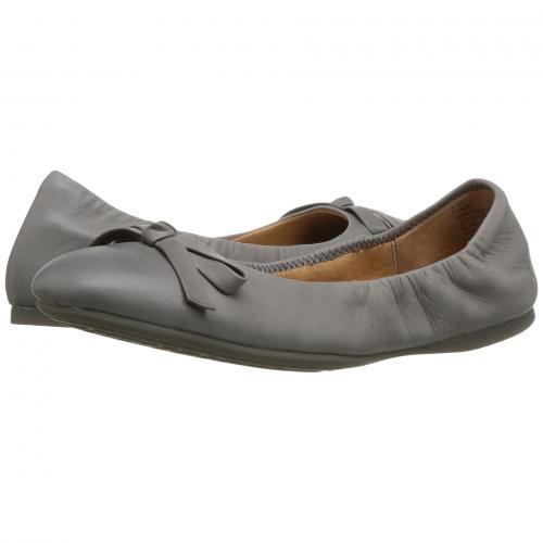ボーン GRAY灰色 グレイ フル グレイン レザー レディース 女性用 靴 カジュアルシューズ レディース靴 【 GREY BORN KAROLINE FULL GRAIN LEATHER 】