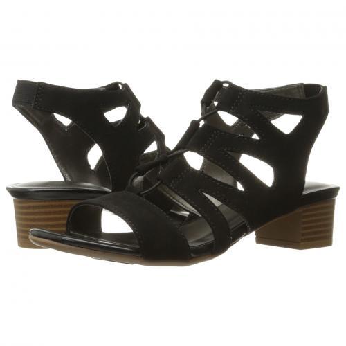 黒 ブラック レディース 女性用 靴 レディース靴 ミュール 【 BLACK LIFESTRIDE MEANING 】