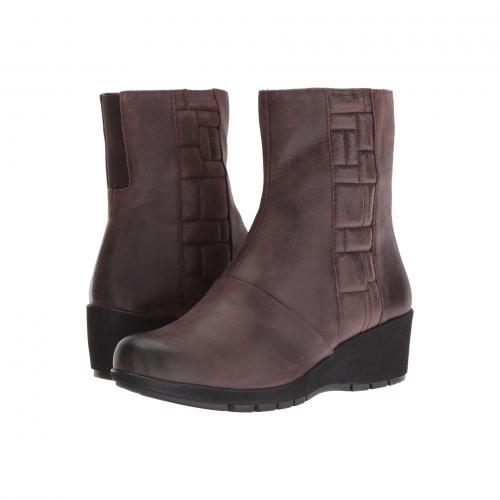 ジェーン ダーク 茶 ブラウン レディース 女性用 ブーツ レディース靴 靴 【 AETREX ESSENCE JANE DARK BROWN 】