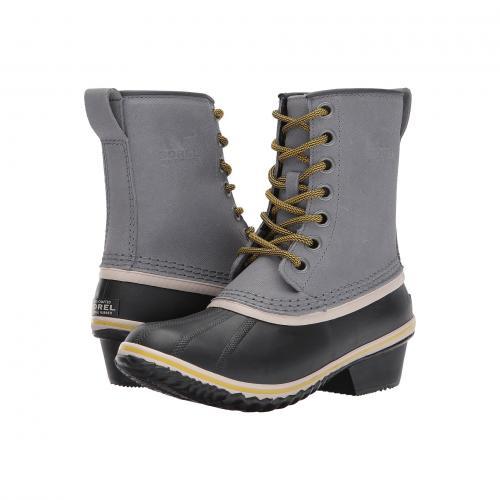 モス レディース 女性用 レディース靴 靴 ブーツ 【 SOREL SLIMPACK 1964 QUARRY ANTIQUE MOSS 】