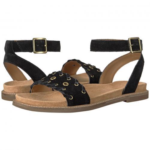 クラークス アメリア 黒 ブラック スエード スウェード レディース 女性用 レディース靴 ミュール 靴 【 BLACK CLARKS CORSIO AMELIA SUEDE 】