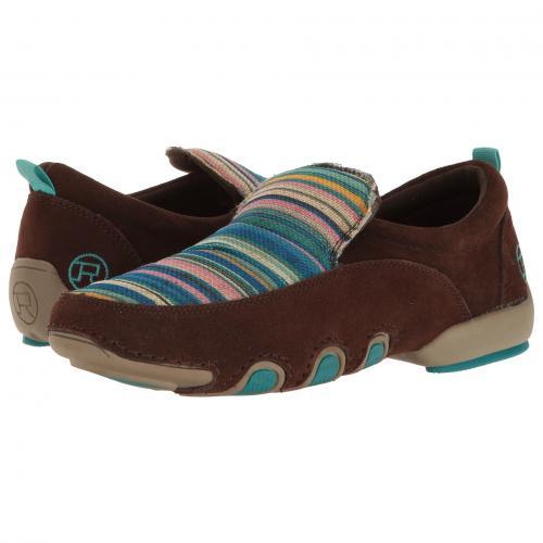 ベイリー ターコイズ レディース 女性用 靴 レディース靴 カジュアルシューズ 【 ROPER BAILEY TURQUOISE MULTI BROWN 】