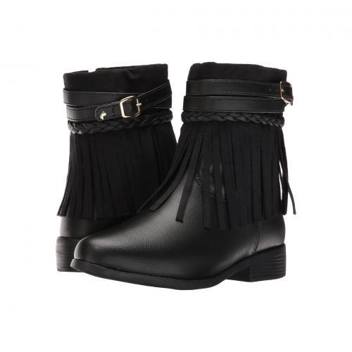 黒 ブラック 279.034 子供用 リトルキッズ 靴 ブーツ マタニティ キッズ ベビー 【 BLACK PAMPILI SAFIRA 】