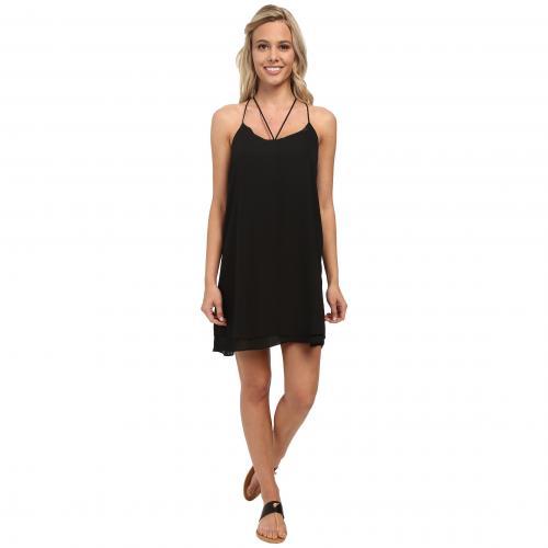 ルーシー ラブ アスク アウト ドレス ワンピース 黒 ブラック レディース 女性用 レディースファッション 【 BLACK LUCY LOVE ASK ME OUT DRESS 】