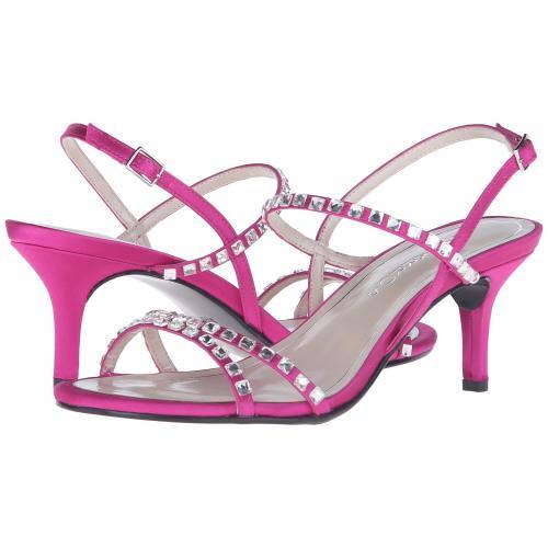 ニュー サテン レディース 女性用 靴 ミュール レディース靴 【 CAPARROS CHRISTINE MAGENTA NEW SATIN 】
