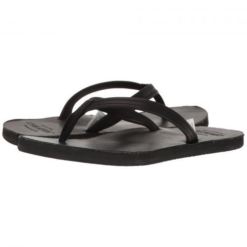 セバゴ フリップ フロップ 黒 ブラック レザー レディース 女性用 靴 レディース靴 ミュール 【 BLACK SEBAGO TIDES FLIP FLOP LEATHER 】