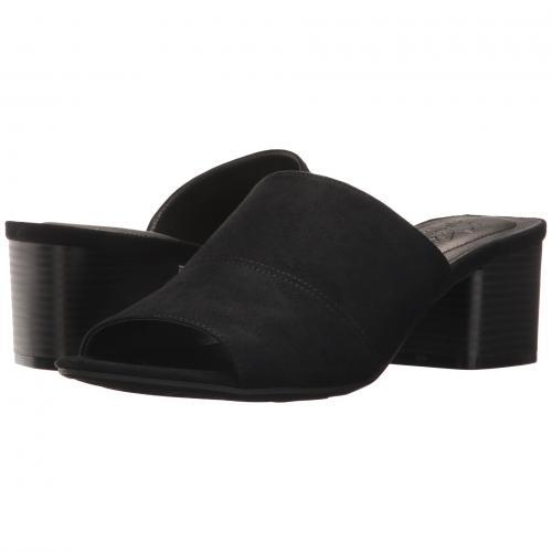リミックス 黒 ブラック レディース 女性用 靴 レディース靴 ミュール 【 BLACK LIFESTRIDE REMIX 】