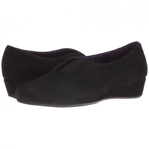 マンゴー 黒 ブラック スエード スウェード レディース 女性用 カジュアルシューズ レディース靴 靴 【 BLACK VANELI MANGO PERFORATED SUEDE 】