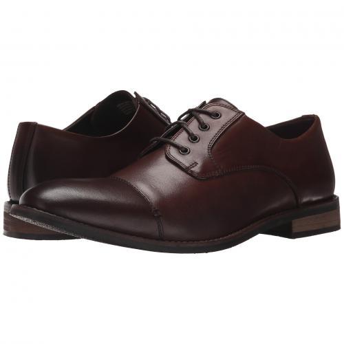 ブッシュ キャップ 帽子 トー オックスフォード 茶 ブラウン メンズ 男性用 靴 メンズ靴 ビジネスシューズ 【 NUNN BUSH HOLT CAP TOE OXFORD BROWN 】