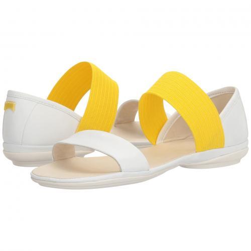 キャンパー ライト ニーナ 白 ホワイト レディース 女性用 靴 レディース靴 ミュール 【 CAMPER RIGHT NINA 21735 WHITE 】
