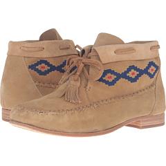 モカシン ストーン スエード スウェード レディース 女性用 ブーティ 靴 レディース靴 【 SOLUDOS MOCCASIN BOOTIE STONE SUEDE 】