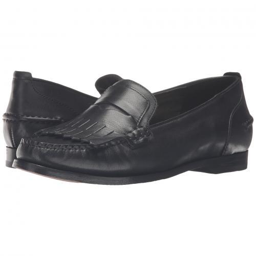 コール グランド ペニー 黒 ブラック レザー レディース 女性用 カジュアルシューズ 靴 レディース靴 【 BLACK COLE HAAN PINCH GRAND PENNY KILTIE LEATHER 】