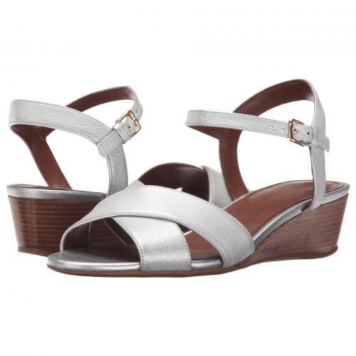 コール エルシー クロス ウェッジ レディース 女性用 靴 サンダル レディース靴 【 COLE HAAN ELSIE CROSS WEDGE 40 II CH ARGENTO 】