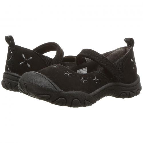 黒 ブラック M.A.P. リトルキッズ 子供用 ベビー 靴 マタニティ キッズ 【 BLACK RONA TODDLER 】