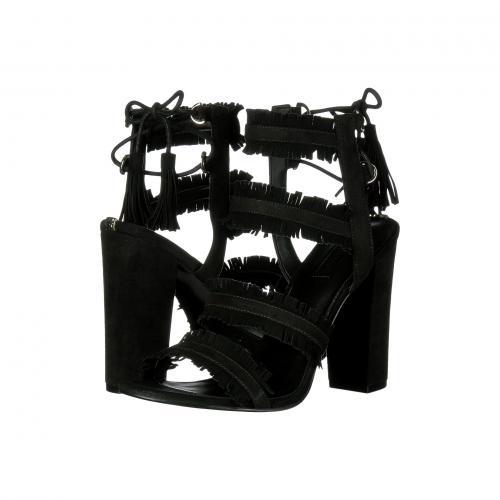ゲス レディース 女性用 レディース靴 サンダル 靴 【 GUESS ECONI BLACK 】